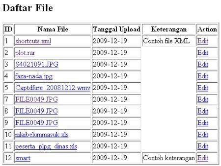 script upload file
